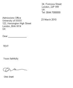 How to write a formal letter get ready for ielts thecheapjerseys Choice Image